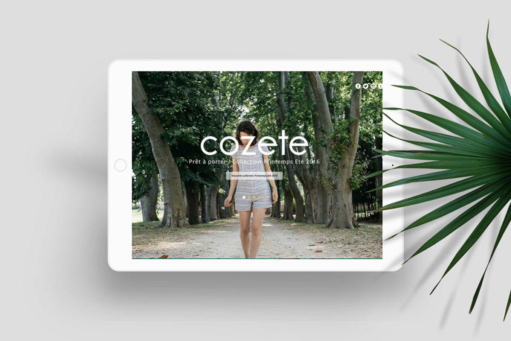 Cozete - Site ecommerce