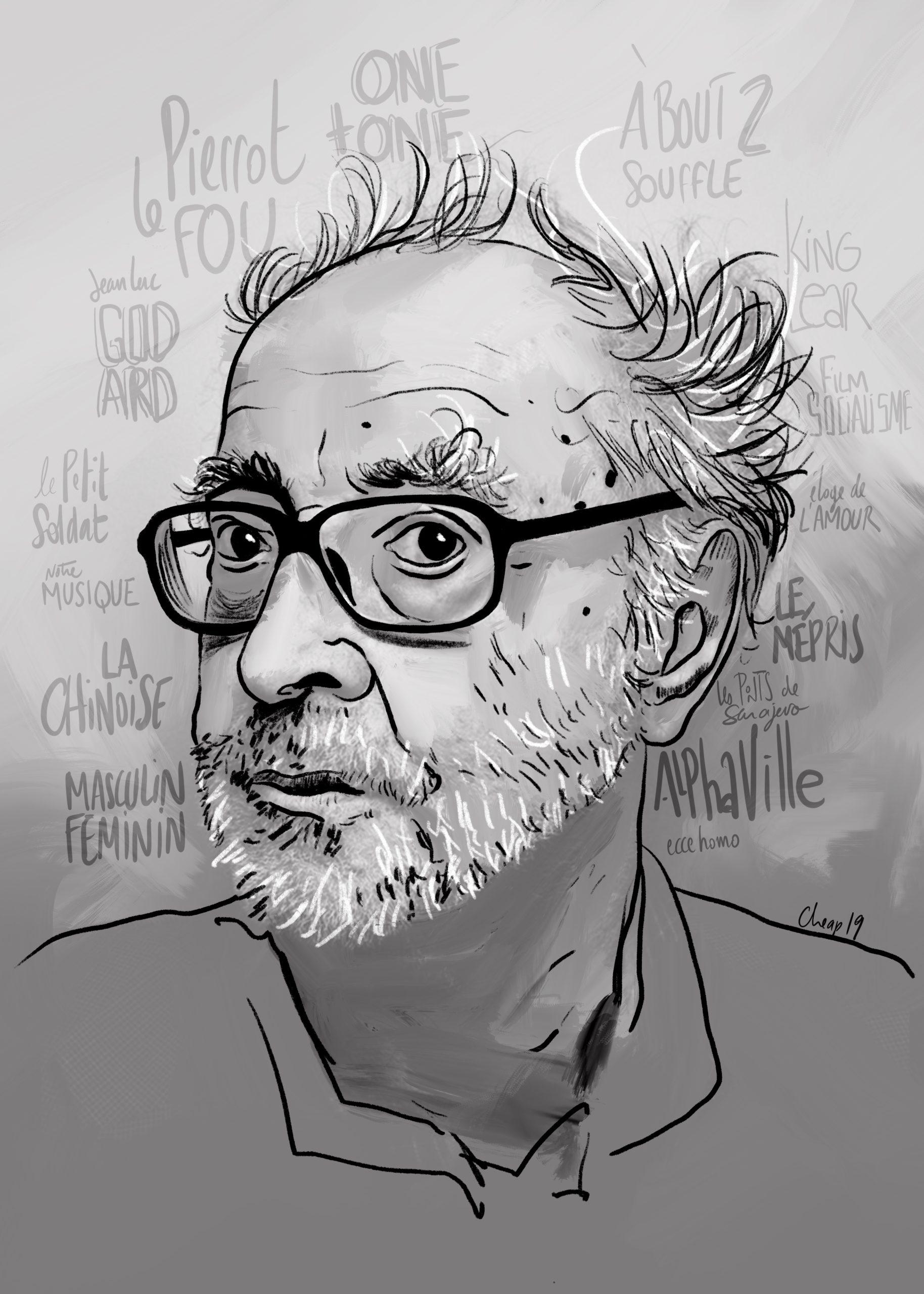 Godard - portrait
